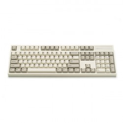 Bàn Phím cơ Leopold FC900R PD White Grey Brown Switch