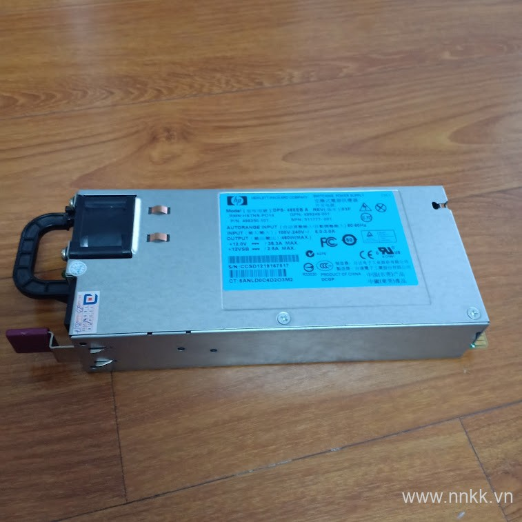 HP 460W Power Supply DL360 G6 / DL380 G6 / DL380 G7 /P/N: 499250-101